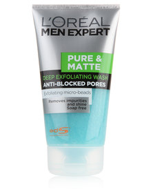 Loreal Pure and Matte Scrub Cleanser