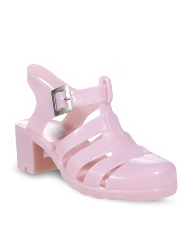 a2e66a64629 Zoom Cherry Jelly Shoes Baby Pink