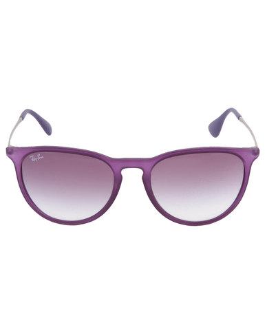 76ffc607fa4c32 Ray-Ban Erika Cat Eye Sunglasses Purple   Zando