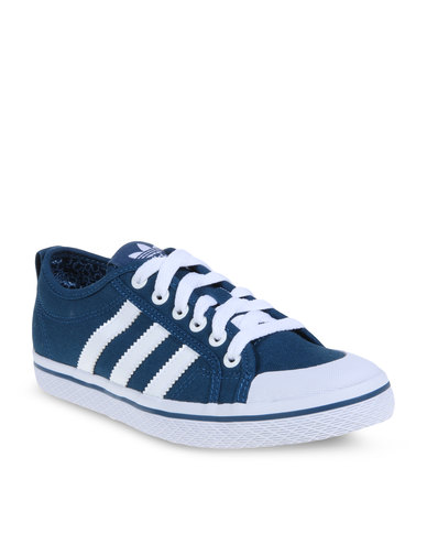 revendeur 05845 1c1de adidas Honey Stripes Low Sneakers Blue