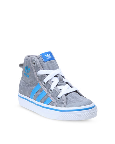 official photos f6688 49cc1 adidas Nizza Hi Sneakers Grey  Zando