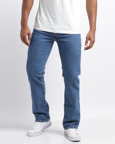 26e85343 Levi's® 501® Original Fit Stone Wash Jeans Blue | Zando