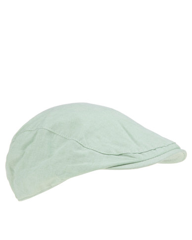 Klevas Carvalio Newsboy Cap Green