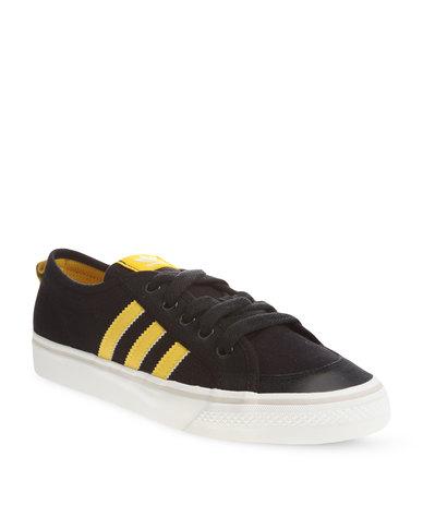 381046ceee59 adidas Nizza Low Top Sneakers Black