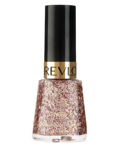 DISC Revlon Glitter Nail Enamel Woven Clutch