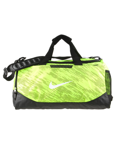 99bdb76b4c Nike Performance Team Training Max Air Medium Duffel Yellow