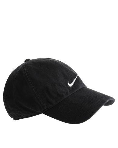 Nike Heritage Swoosh Cap Black  e770669c69a