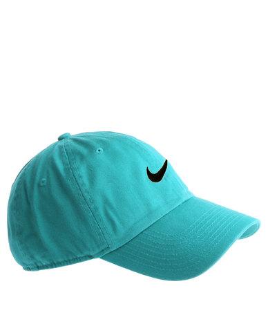 4aedba9914a Nike Heritage 86 Swoosh Cap Teal