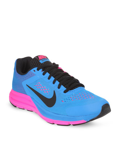 timeless design 1f93c 2ba43 Nike Performance Women's Zoom Structure +17 Running Shoes Blue