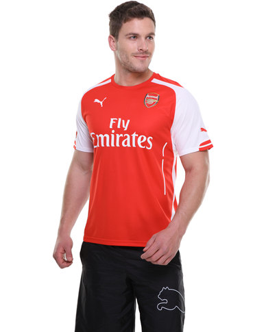 new product ccb0f d2558 Puma Performance Arsenal Replica Jersey Red