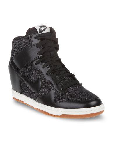 Nike Dunk Sky Hi Essential Sneakers Black  525eafa0d379