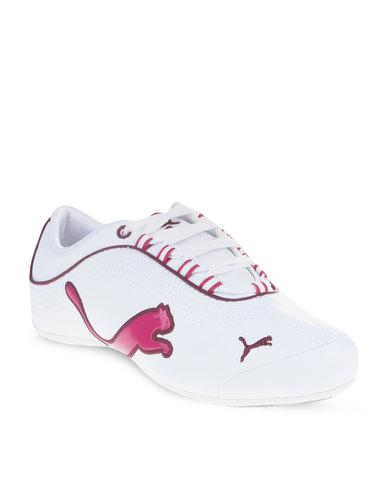 905a7cee8c1 Puma Soleil Cat Sneakers White