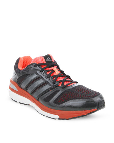 buy popular 1804d 3ffe1 adidas Performance Supernova Sequence 7 Running Shoes Black   Zando