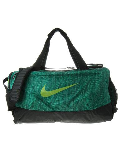 nike team training max air graphic medium duffel bag