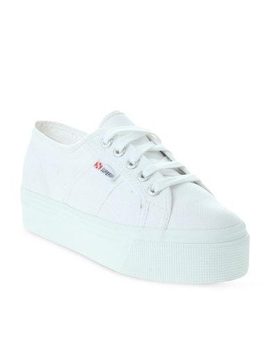 10811450eb09 Superga Cotu 2790 Classic Wedge White