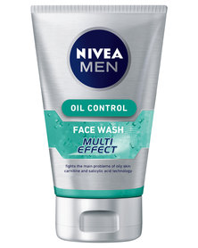 Nivea For Men Multi Effect Oil Control Face Wash 100ml