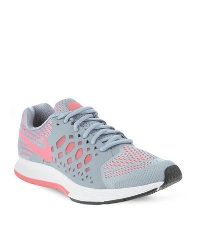 4f23195be6154 Nike Performance Zoom Pegasus 31 Running Shoes Grey