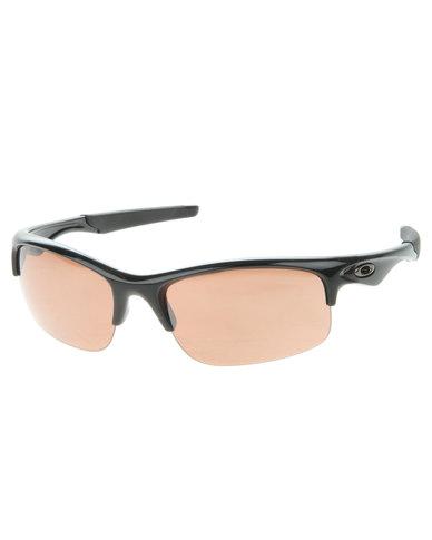 519d78c233 Oakley Bottle Rocket Polished Black Half Frame Sunglasses Black