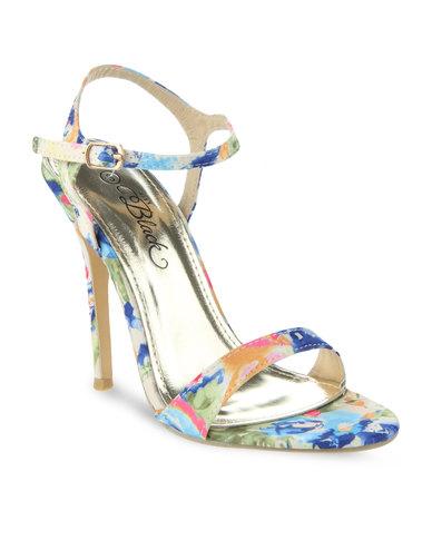 840a7ff91d9 Miss Black Diana High Heel Sandals Multi-Colour
