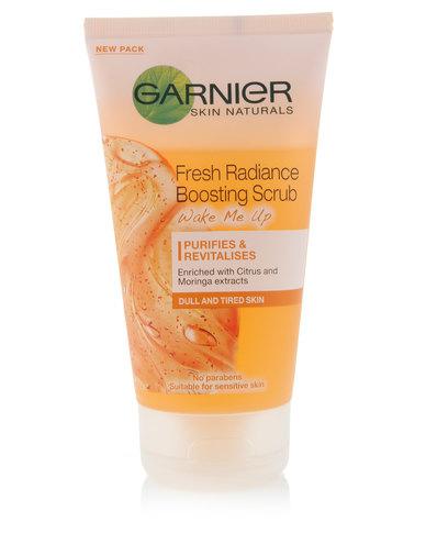 DISC Garnier Fresh Radiance Boosting Scrub 150ml