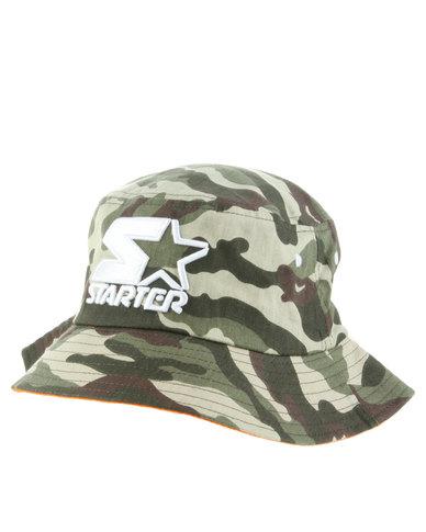 a635b279e21 Starter Camo Bucket Hat