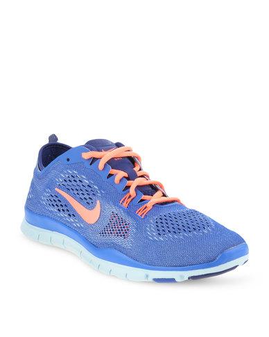 17e318c65043 Nike Performance Free 5.0 TR FIT 4 Training Shoes Blue