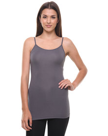 Utopia Basic Cami Charcoal