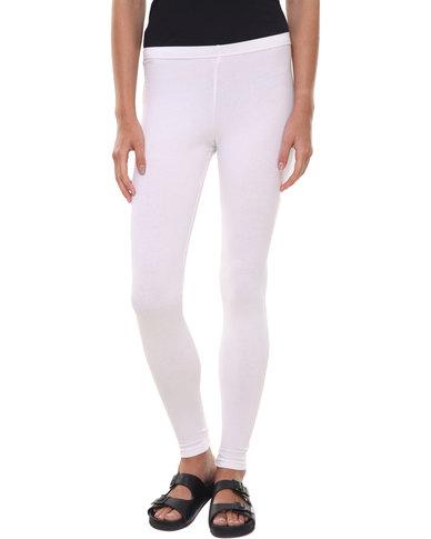 Utopia Basic Leggings White