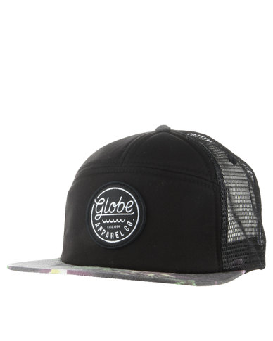 Globe Pakalolo Trucker Cap Black  0626e4b94a4f