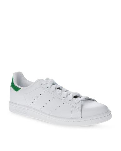 adidas Stan Smith Shoes White/Green