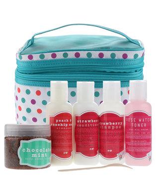 Hey Gorgeous Beauty Box 5 Product Gift Set Blue