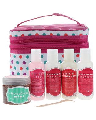 Hey Gorgeous Beauty Box 5 Product Gift Set Pink