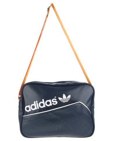 adidas Perforated Airliner Sling Bag Navy  80fdf6b94a53f