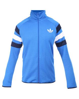 adidas Trefoil FC Track Top Blau |