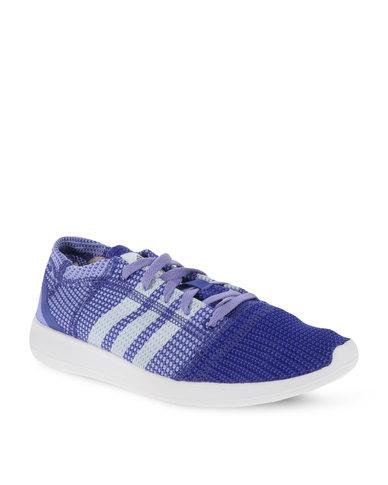 watch 73810 b7566 adidas Performance Element Refine Tricot Shoes Purple   Zando