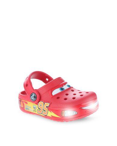 10674c3727c52 Crocs Crocslights Cars Clog Red