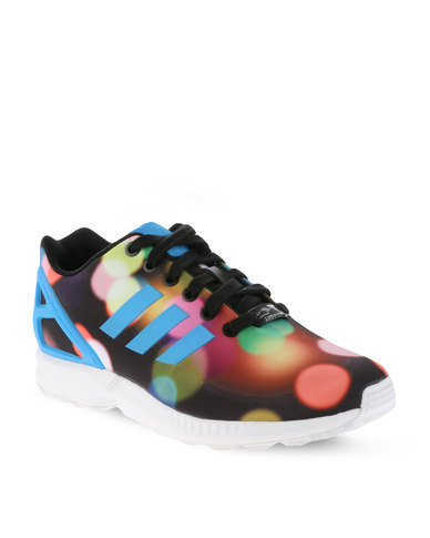 78bde988c adidas ZX Flux Low-Cut Sneakers Multi Black