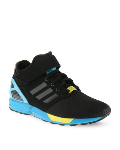 purchase cheap 5ae15 e532c new style zx flux black and turquoise 7b392 0a1a8