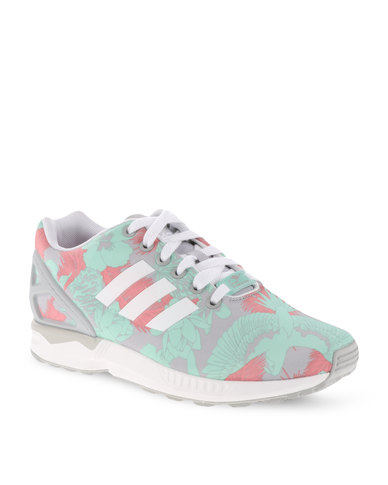 huge selection of 5b4a4 ace39 adidas ZX Flux Low-Cut Sneakers Multi Grey   Zando