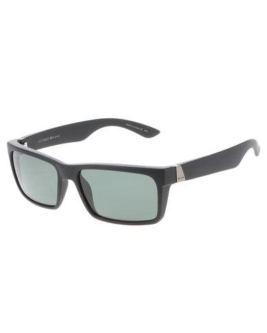 b5c52c56e27 Dot Dash Lads Black Satin Grey Polarised Lens Sunglasses