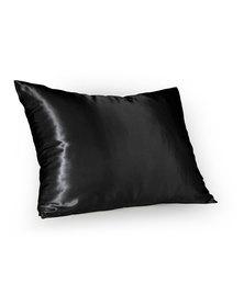 Dear Deer Satin Pillow Case Black