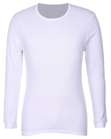 Elmar Thermal L/S Undershirt White
