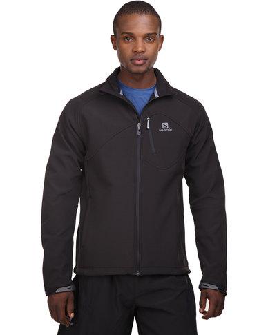 best service fd569 7b984 Salomon Fusion III Softshell Jacket Black