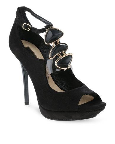 Errol Arendz Castor High Heels Black
