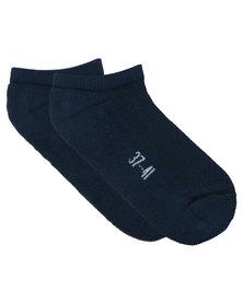 Utopia Ladies Socks Navy