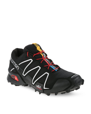 a10328183 Salomon Speedcross 3 Trail Running Shoes Black | Zando
