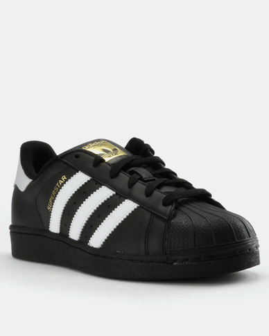 sale retailer 5c9e8 f7681 adidas Superstar Foundation Sneakers Black   Zando