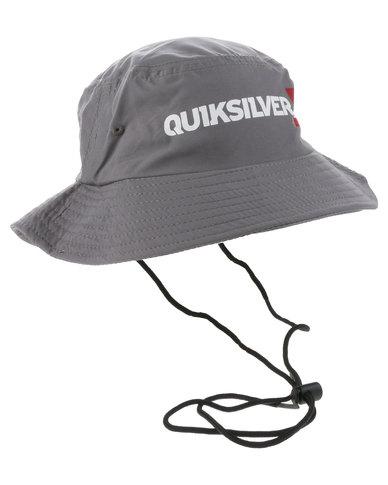 fc2a3a3d10412e Quiksilver Topaz Surf Hat Dark Grey | Zando