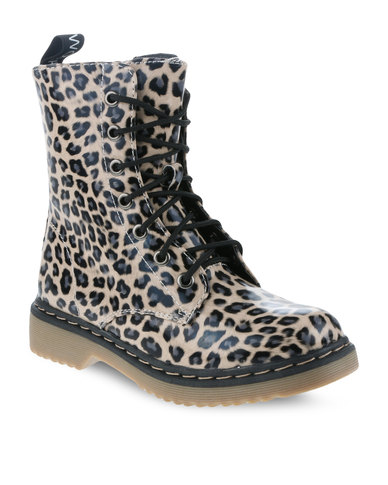 1ee654ab8bac Footwork FW511500-25 Ankle Boots Multi-Colour