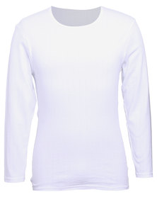 Jockey L/S Undershirt White